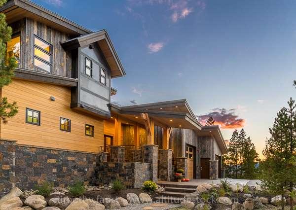 real estate twilight golden hour